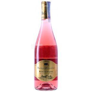 Barton & Guestier, Rose d'Anjou, Вино розовое сухое, 0,75 л