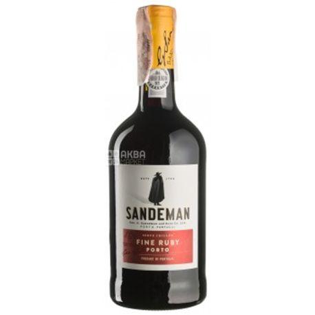 Sandeman, Porto Ruby Sogrape Vinhos, Вино красное крепленое, 0,75 л