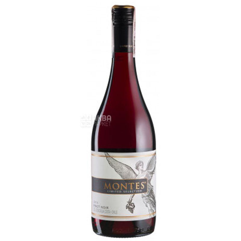 Montes, Pinot Noir Limited Selection, Вино красное сухое, 0,75 л