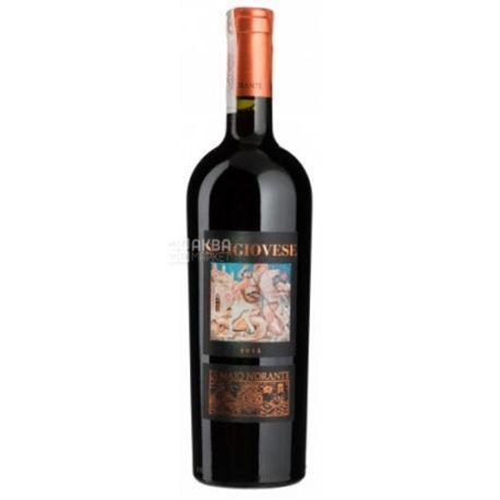 Di Majo Norante, Sangiovese, Вино червоне сухе, 0,75 л