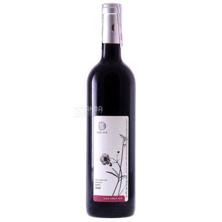 Golan Heights Winery, Sion Creek Golan, Вино червоне сухе, 0,75 л