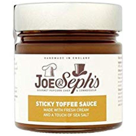 Joe & Seph's, Соус Шоколад-Карамель с фундуком, 230 г