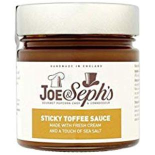 Joe & Seph's, Соус Шоколад-Карамель з фундуком, 230 г