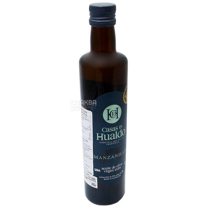 Casas de Hualdo, Extra Virgin Olive Oil, Manzanilla, 500 ml