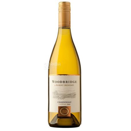 Chardonnay Woodbridge, Robert Mondavi, Вино біле сухе, 0,75 л