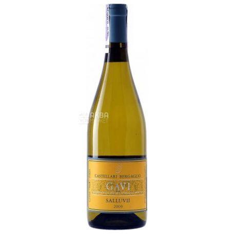 Castellari Bergaglio, Gavi Doc Salluvii, Вино біле сухе, 0,75 л