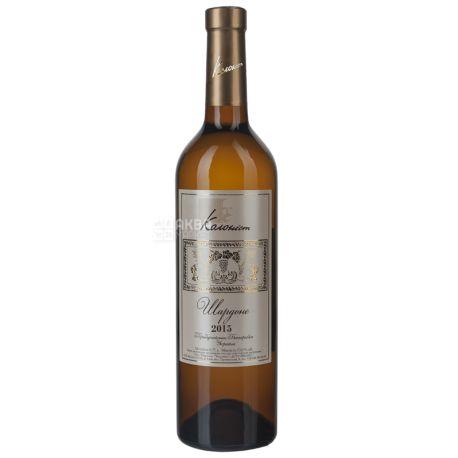 Колонист, Шардоне, Вино белое сухое, 0,75 л