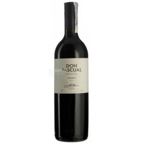 Don Pascual, Tannat Reserve, Вино красное сухое, 0,75 л