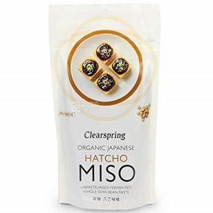 Clearspring Hatcho Miso, Паста для приготування бульйону для місо, органічна, 4 х 28г