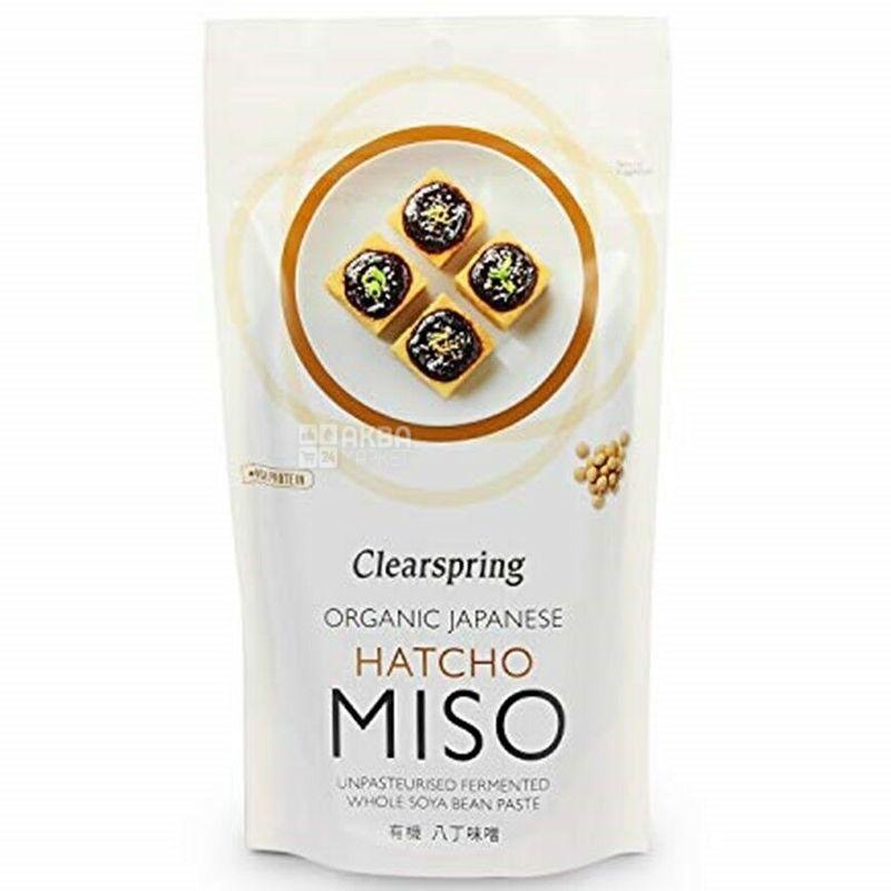 Clearspring Hatcho Miso, Паста для приготовления бульона для Мисо, органическая, 4 х 28г