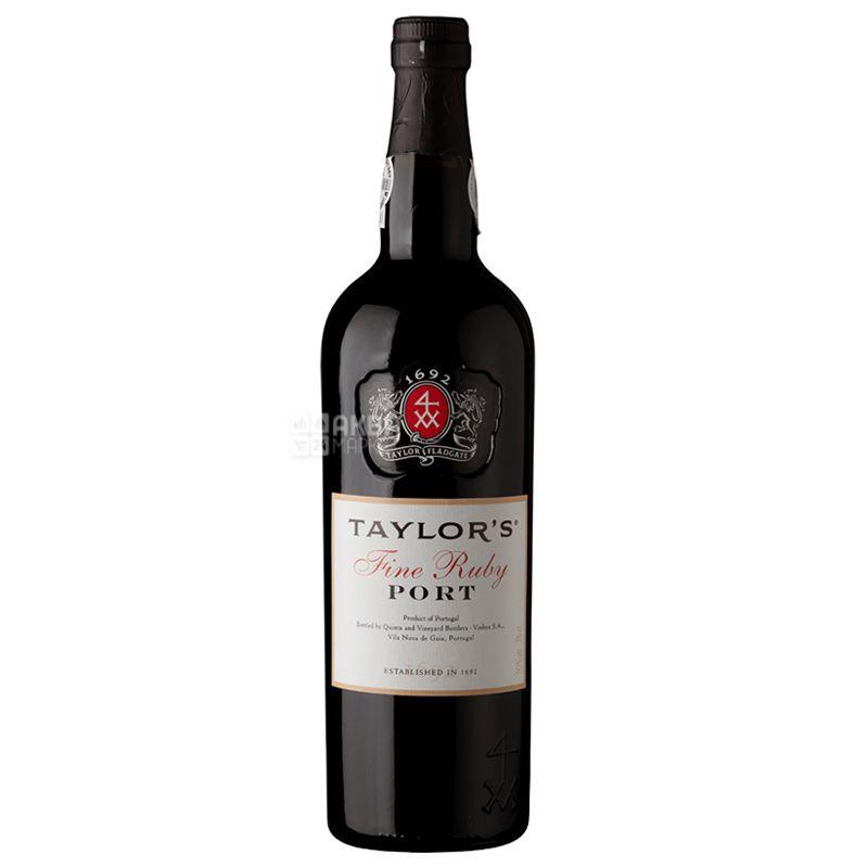 Taylor's Fine Ruby, Вино красное сладкое, 0,75 л