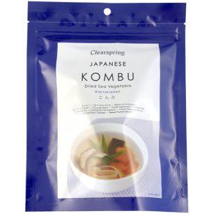 Clearspring, Kombu Hokkaido Seaweed, Dried, 50 g