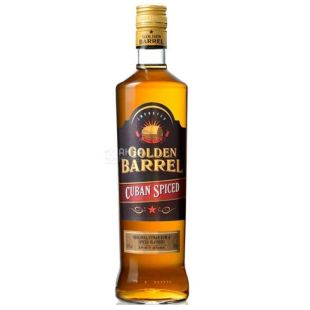 Golden Barrel Cuban Spiced, Ром, 0,7 л