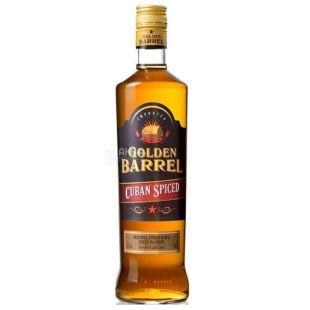Golden Barrel Cuban Spiced, Rum, 35%, 0.7 l