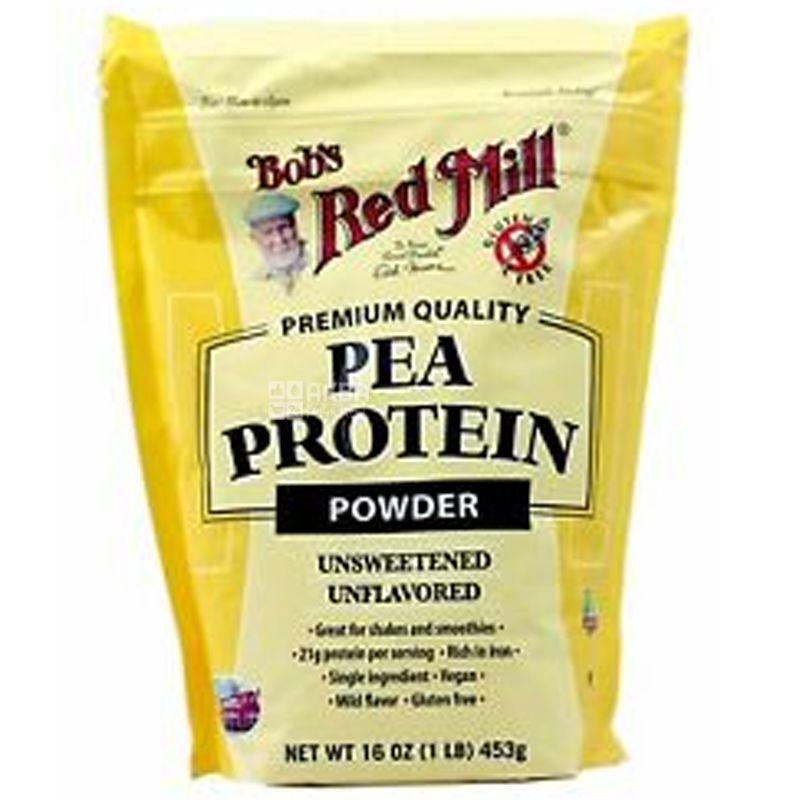Bob's Red Mill, Протеин гороховый, без глютена, 453 г