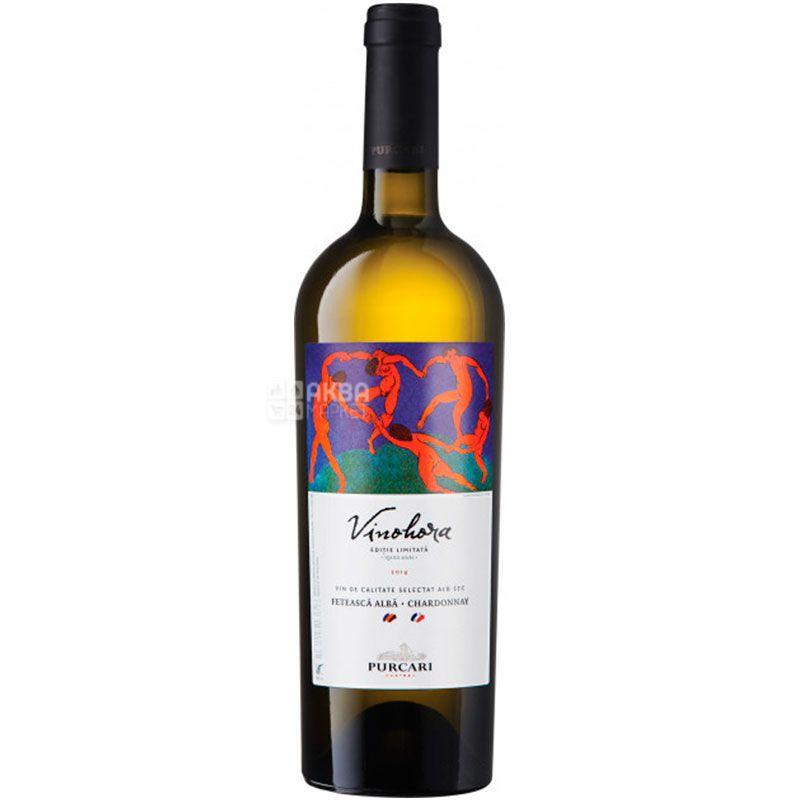 Purcari Feteasca Alba Chardonnay, Вино белое сухое, 0,75 л