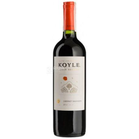 Koyle, Cabernet Sauvignon Matetic Vineyards, Вино красное сухое, 0,75 л