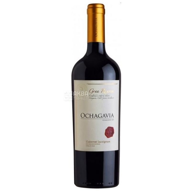 Ochagavia, Cabernet Sauvignon Gran Reserva, Вино красное сухое, 0,75 л