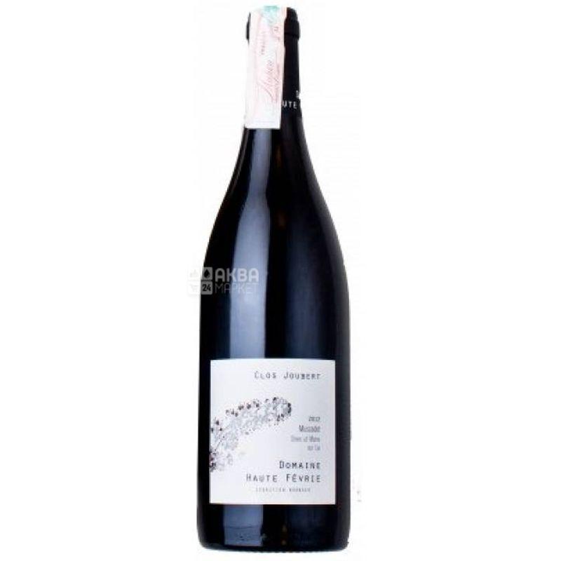 Domaine Haute Fevrie, Muscadet Le Clos Joubert, Вино белое сухое, 0,75 л