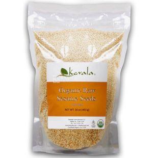 Kevala, Кунжут сырой органический, 453 г