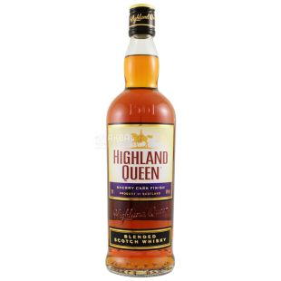 Highland Queen Sherry Cask Finish, Whiskey, 0.7 L