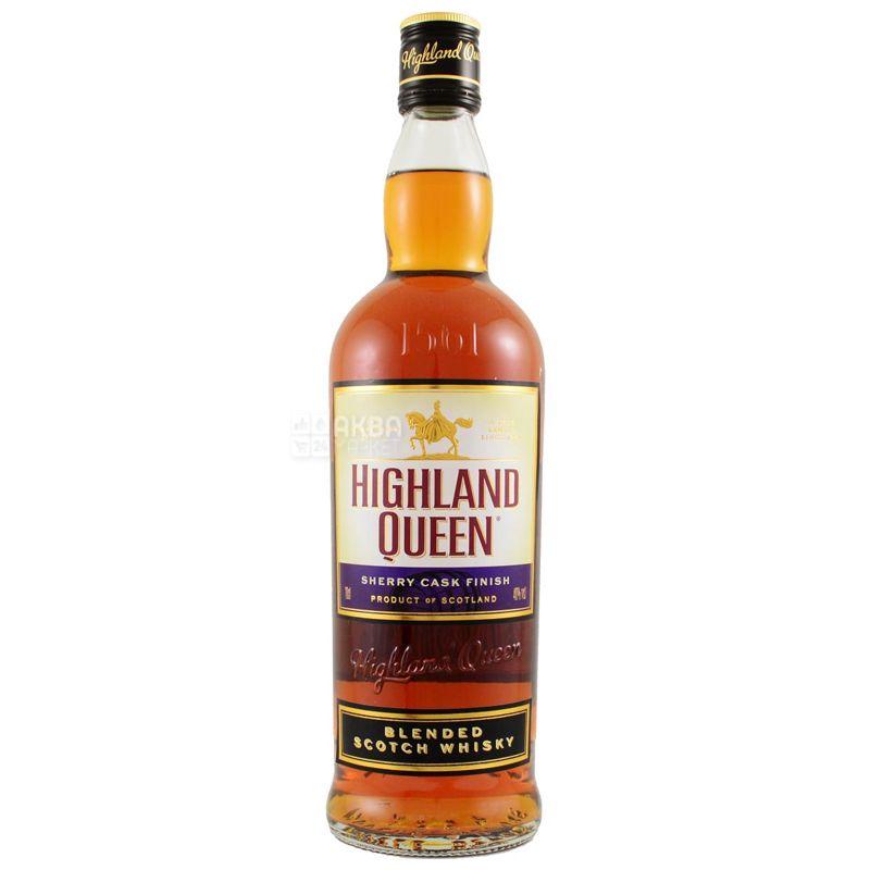 Highland Queen Sherry Cask Finish, Виски, 0,7 л