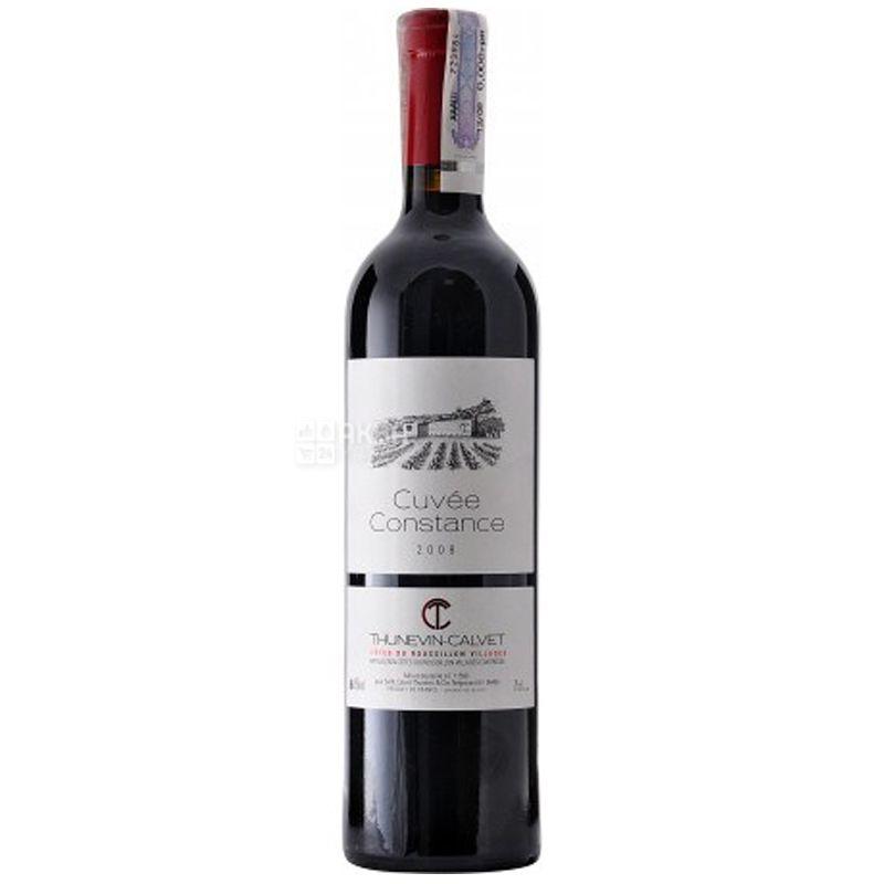 Thunevin Calvet Cuvee Constance, Вино красное сухое, 0,75 л