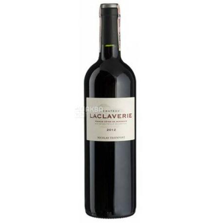 Chateau Laclaverie, Вино красное сухое, 0,75 л