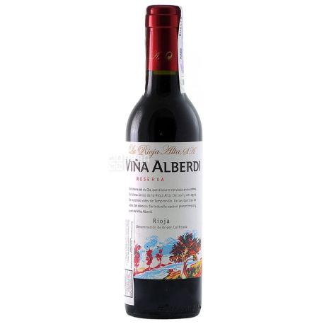 La Rioja Alta Vina Alberdi Reserva 2011, Вино красное сухое, 0,375 л