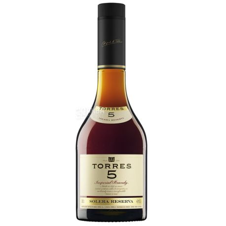 Torres, Imperial Brandy, Бренді, 5 років витримки, 0,7 л