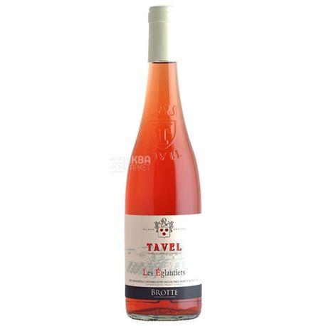 Brotte Les Eglantiers Tavel, Вино розовое сухое, 0,75 л