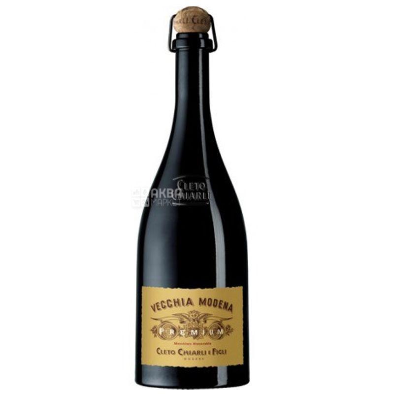 Cleto Chiarli Lambrusco di Sorbara Premium, Chiarli, Игристое красное вино, 0,75 л