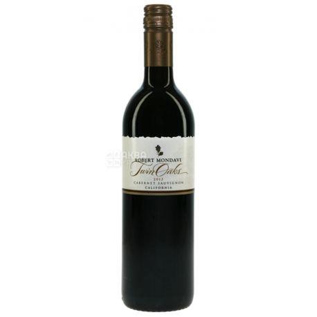 Cabernet Sauvignon Twin Oaks, Robert Mondavi, Dry red wine, 0.75 L