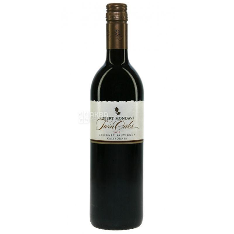 Robert Mondavi, Cabernet Sauvignon Twin Oaks, Вино красное сухое, 0,75 л