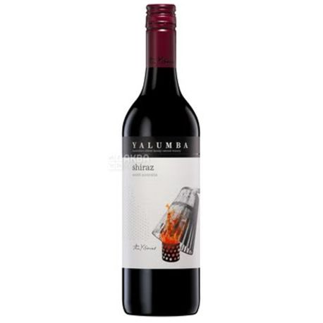 Shiraz Y Series, Yalumba, Вино червоне сухе, 0,75 л