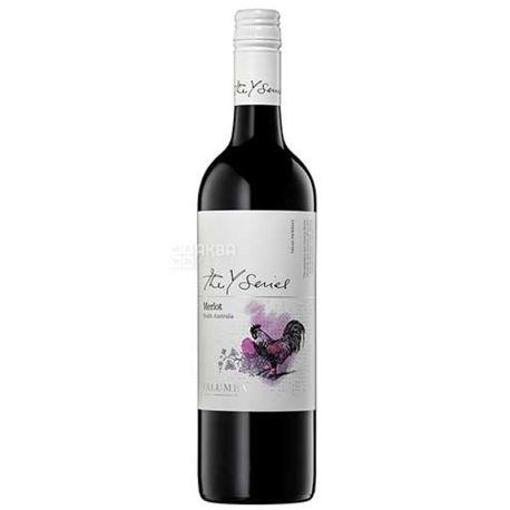 Yalumba, Merlot Y Series, Вино красное сухое, 0,75 л