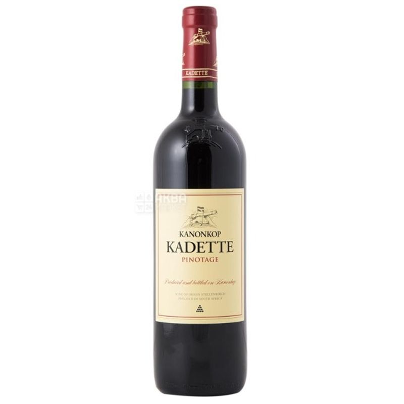 Kanonkop, Pinotage Kadette, Вино красное сухое, 0,75 л