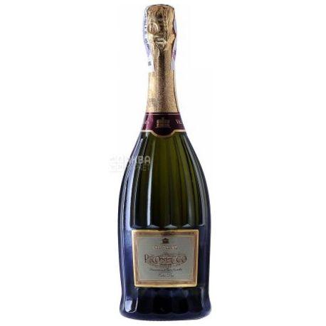 Santero Prosecco Villa Jolanda Spumante DOC, Вино белое экстра-сухое, 0,75 л