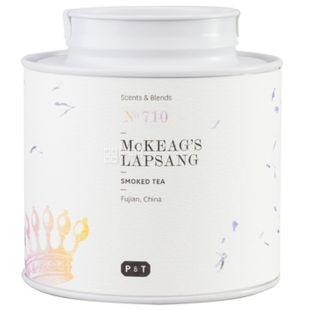 P & T, McKeag Lapsang, 60 г, Пи Ти, Чай черный с копченым ароматом, ж/б