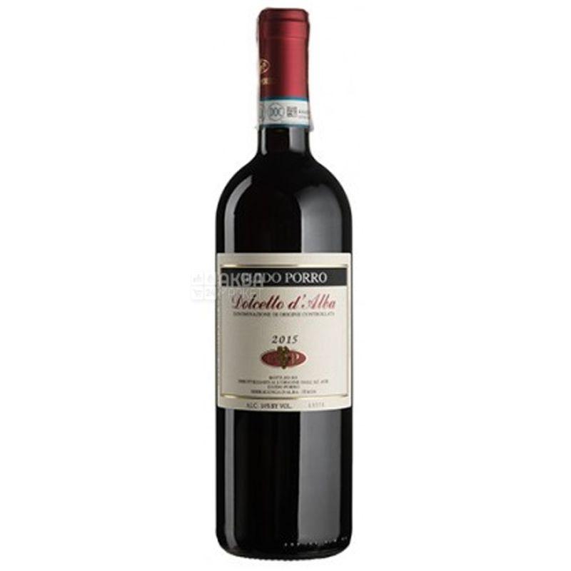 Guido Porro, Вино красное сухое Dolcetto d'Alba, 0,75 л