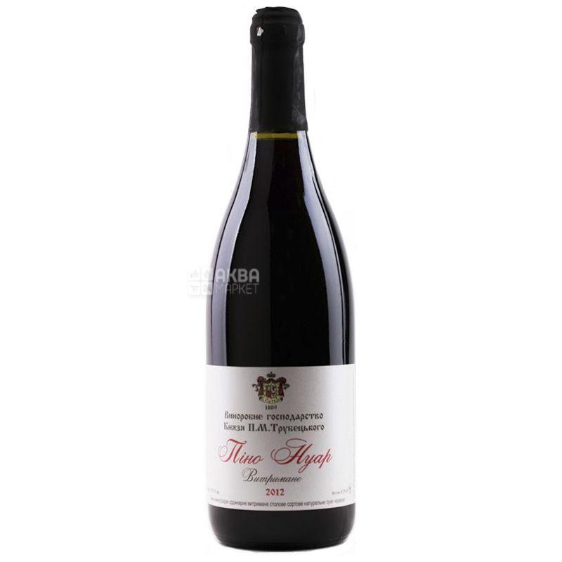 Винодельческое хозяйство князя П.Н. Трубецкаго, Пино Нуар, Вино красное сухое, 0,75 л