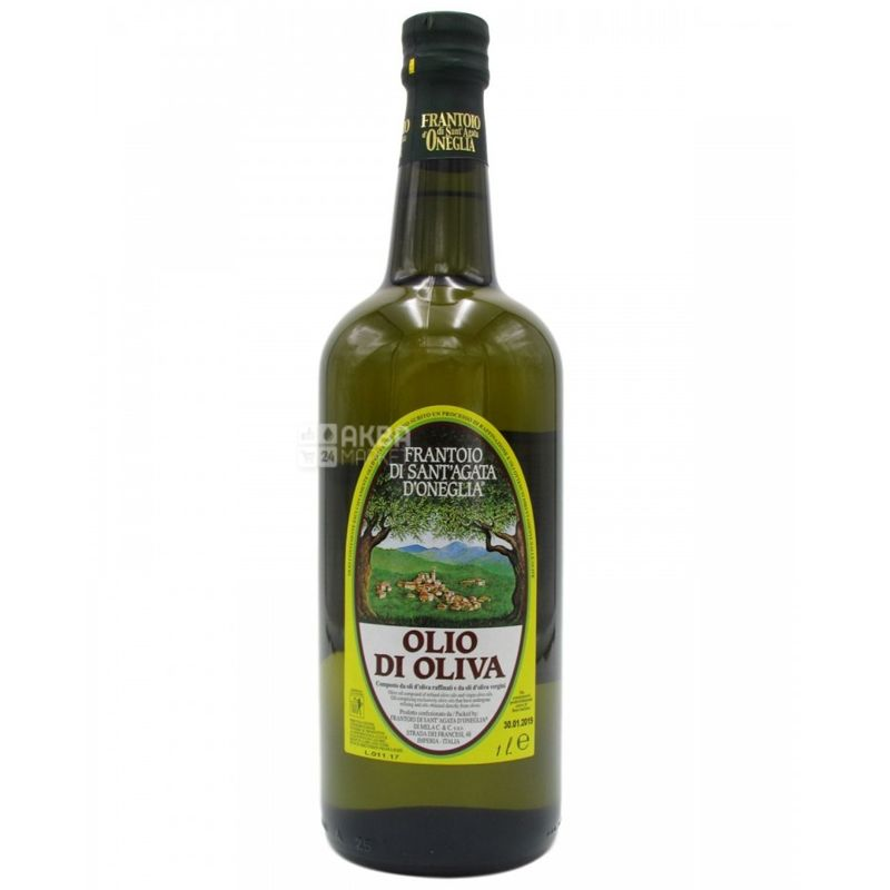 Frantoio di Sant'agata, Масло оливковое, 70% рафинированное, 30% extra virgin, 1 л