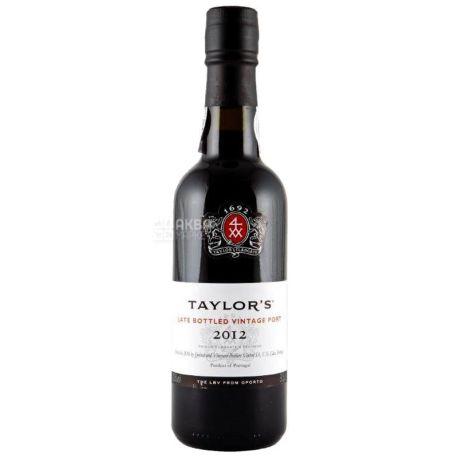 Taylor's Late Bottled, Вино червоне солодке, 0,375 л
