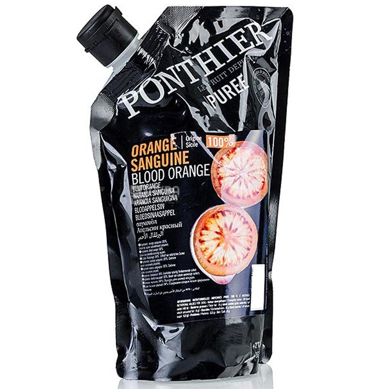 Ponthier, Пюре фруктовое охлажденное, Красный апельсин, 1 кг