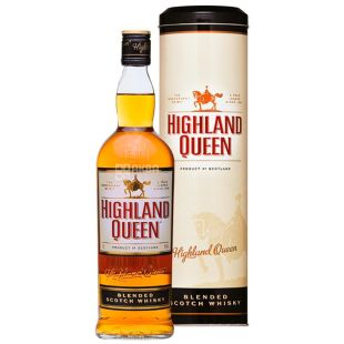 Highland Queen, Whiskey, (metal tube), 0.7 l