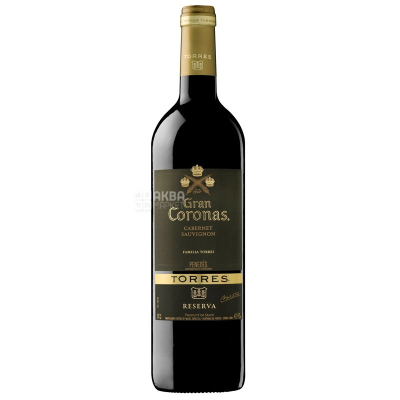 Gran Coronas, Torres, Вино червоне сухе, 0,75 л