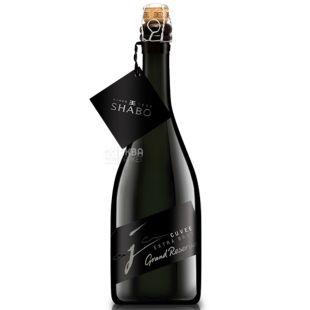 Shabo, Extra Brut Grand Reserve, Ігристе вино біле Екстра-брют, 0,75 л