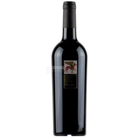 Feudi di San Gregorio, Lacryma Christi Rosso, Вино красное сухое, 0,75 л