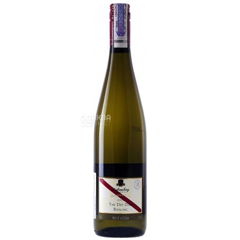 Dry Dam Riesling, d'Arenberg, Вино белое полусухое, 0,75 л
