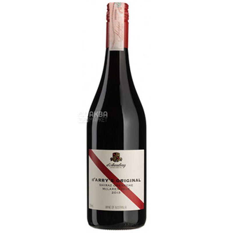D'Arry's Original Shiraz Grenache, d'Arenberg, Вино красное сухое, 0,75 л